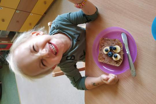 Chefs in Training - Healthy Animal Breakfast toasts 1
