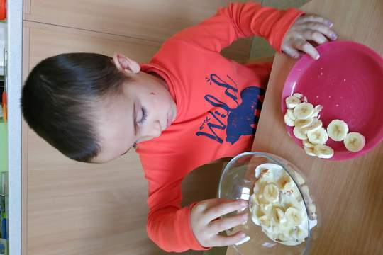 Chefs in Training - Crunchy Banana Parfaits 1