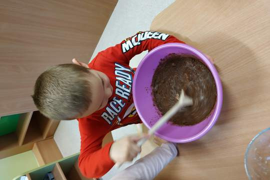 Chefs in Training- Chocolate Chia Pudding 1